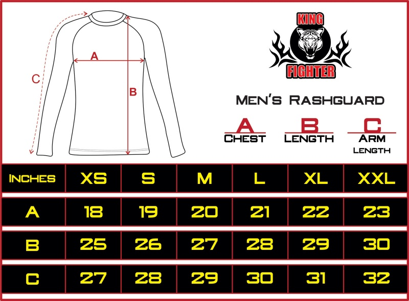 KF-rashguard-size-chart